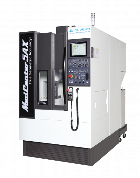 MedCenter5AX - 5-Axis Vertical Machining Center | Kitamura Machinery