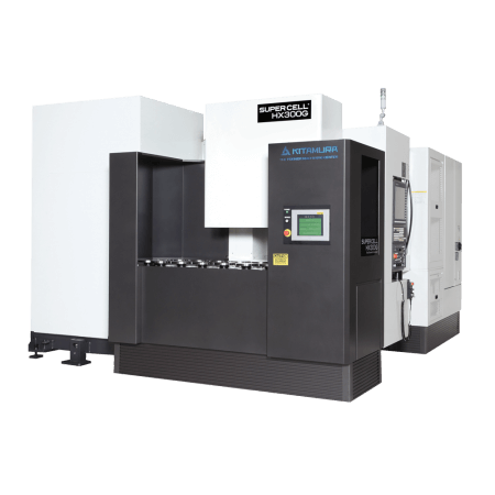 Kitamura Supercell-300G - 5-Axis Horizontal Machining Center - Supercell-Series